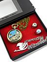 Ceas/Ceas de Mână Mai multe accesorii Inspirat de Basme Lucy Heartfilia Anime Accesorii Cosplay Colier Ceas/Ceas de Mână Inel Aliaj