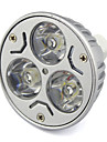 380 lm GU5.3(MR16) LED-spotlights MR16 lysdioder Högeffekts-LED Varmvit Kallvit DC 12 V