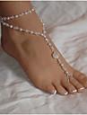 Pentru femei Brățară Gleznă / Brățări Perle Imitație de Perle Multistratificat European Brățară Gleznă Bijuterii Pentru Zilnic Casual