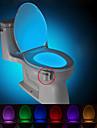 brelong rörelse aktiveras toalett natt ledde toalett ljus badrum tvättrum