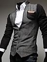Bărbați Jachetă Șic Stradă-Bloc Culoare