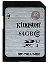 Kingston 64GB Card SD card de memorie UHS-I U1 Class10