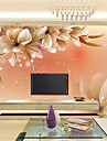 Konst Dekor 3D Hem-dekoration Nutida Tapetsering, Duk Material lim behövs Väggmålning, Tapet
