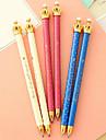 Stilou Stilou Pixuri cu Bilă Stilou, Plastic Albastru Culori de cerneală For Rechizite școlare Papetărie Pachet de