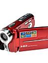 hd rich® 720p 5MP 16x cu zoom aparat de fotografiat digital video camera video DV roșu