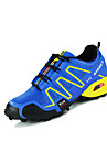 Erkek Ayakkabı PU Bahar / Sonbahar Rahat Atletik Ayakkabılar Koşu Atletik için Bağcıklı Siyah / Beyaz / Siyah / Yeşil / Navy Mavi