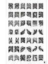nagel konst stämpling Plate Abstrakt Klassisk Hög kvalitet Dagligen