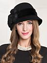 Femei Dantelă In Lână Net Diadema-Nuntă Ocazie specială Informal Pălărioare Pălării/Căciuli 1 Bucată