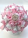 """Flori de Nuntă Buchete Nuntă Party / Seara Satin Spumă 8.66""""(Approx.22cm) 9.84""""(Approx.25cm)"""