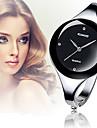 Pentru femei Ceas La Modă Ceas de Mână Ceas Brățară Ceas Casual Quartz imitație de diamant Aliaj Bandă Atârnat Elegant Argint