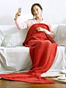 Tricotat,Fir Vopsit Solid 100% Acrilic pături