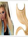 Mänskligt hår Flip In Medel (90g-120g) Ret Människohår förlängningar