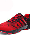 Bărbați Pantofi PU Toamnă / Iarnă Confortabili Adidași de Atletism Tenis Negru / Roșu / Negru / Alb