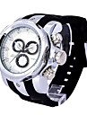Bărbați Ceas Elegant  Ceas La Modă Ceas Sport Quartz Calendar Rezistent la Apă Piele Autentică Bandă Casual Multicolor