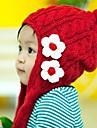 Fete Căciuli & Băști - Iarnă Îmbrăcăminte tricotată Rosu