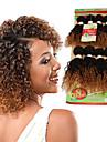 Brasilianskt hår Curly Weave Lockigt Hårförlängning av äkta hår 1 st. 0.4