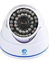 jooan® 700tvl säkerhetsövervakning CCTV kamera dome video övervaka 36 IR-lysdioder mörkerseende inomhus hem