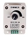 controler pentru reglarea intensității luminoase PWM lumini LED sau panglică 12 volți 8 lumină luminozitate ampadjustable comutator