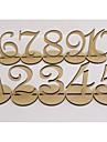 Fierbinte stil articol din lemn numere 1-10 de locuri de nunta marca nunta ramadhin articole de mobilier