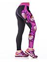 Dam Tights för jogging Gymleggings Snabb tork Andningsfunktion Spänning Kompression underställ Cykling Tights Underdelar Yoga Motion &