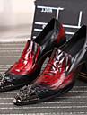 Homme Chaussures Cuir Nappa Printemps / Automne Confort Oxfords Noir / Mariage / Soiree & Evenement / Chaussures de nouveaute
