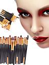 20pcs Makyaj fırçaları Profesyonel Eyeliner Fırçası Allık Fırçası Dudak Fırçası Kaş Fırçası Far Fırçası Kapatıcı Fırçası Kontur Fırçası Makyaj Fırça Seti Portatif / Çevre-dostu / Profesyonel Plastik