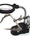 3.5/12X65 Förstoringsglas Högupplöst LED Skrivbord Smycken Utrustning och verktyg Klockreparation Lukemiseen Allmänt bruk Hel beläggning