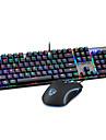 mouse-ul pentru jocuri USB tastatură mecanică USB axa verde iluminare din spate cu mai multe culori Motospeed