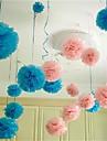 10pcs 25cm * 25cm bile ieftine flori de hârtie pentru acasă nunta meserii decorare auto petrecere