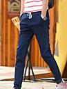 Bărbați Drept Blugi Pantaloni Mată Culoare solidă