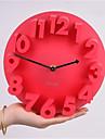 Altele Altele Ceas de perete,Rotund Metalic Plastic 22*8.2 Interior Ceas