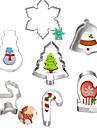 coacere Mold desen animat în formă Animal tort pentru Cookie pentru Pie Oțel Inoxidabil DIY Crăciun