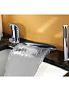 Robinet de baignoire - Moderne Decoration artistique / Retro Chrome Diffusion large Soupape ceramique