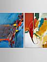 Abstract Natură moartă Clasic Stil European,Două Panouri Canava Vertical print Arta Decor de perete For Pagina de decorare