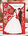 Wrap & Pocket Wedding Invitations 20 Printing Card Paper Pattern / Print