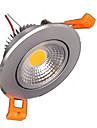 ZDM® 1pc 5W 500-550lm 1 LEDs Abblendbar Leicht zu installieren Einbaulampe Einbauleuchten Warmes Weiss Kuehles Weiss Natuerliches Weiss AC110