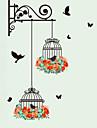 Animale Botanic Modă Perete Postituri Autocolante perete plane Autocolante de Perete Decorative,Vinil Material Pagina de decorarede
