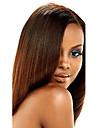 Indiskt hår Yaki Klassisk Hårförlängning av äkta hår 1 st. Hög kvalitet Human Hår vävar Dagligen