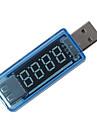 mini USB-laddare läkare spänning laddningsdetektor usb mobil starkström och voltmeter amperespänningsladdare provare