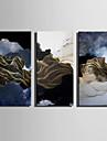 Abstract Peisaj Modern, Un Panou pânză Vertical Imprimeu Decor de perete Pagina de decorare