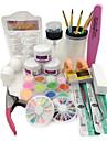 1SET Nail Art Kits & Sets Nail Art Tool Chic och modern Trendig Nail Art Design