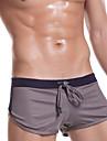 Masculin Sexy Solid Pantaloni scurți & Briefs Boxeri Briefs(Polyester)