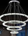 Tiffany Land Traditionell/Klassisk Modern Kristall Bimbar LED Dimbar med fjärrkontroll Ljuskronor Glödande Till Vardagsrum Sovrum