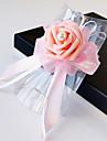 Flori de Nuntă Formă liberă Trandafiri Corsaj de mână Nuntă Petrecere / Seară Satin Mărgea