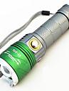 Ultravioletta ficklampor LED 500 lm 4.0 Läge - LED med batteri och laddare Zoombar Justerbar fokus Uppladdningsbar Vattentät Förfalskade