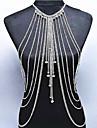 Dame Bijuterii de corp Corp lanț / burtă lanț Natură La modă Bohemia Stil Cristal Aliaj Auriu Argintiu Bijuterii PentruOcazie specială