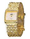 ASJ Γυναικεία κυρίες Πολυτελή Ρολόγια Βραχιόλι Ρολόι χρυσό ρολόι Ιαπωνικά Χρυσό απομίμηση διαμαντιών Αναλογικό Πολυτέλεια Λάμψη Μοντέρνα Κομψό - Λευκό Μαύρο