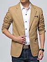 Bărbați Mărime Plus Size Blazer Bloc Culoare Bumbac