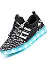 Băieți Adidași Confortabili Pantofi Usori Shoe luminoasă Țesătură Vară Toamnă De Atletism Fitness & Antrenament Cross Dantelă Toc Plat