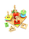 Ferramentas de Ensino Montessori Blocos de Construir 120 pcs Educacao Unisexo Para Meninos Para Meninas Brinquedos Dom